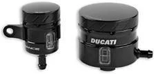 Ducati Clutch/Brake CNC Reservoir Kit - SBK - Black