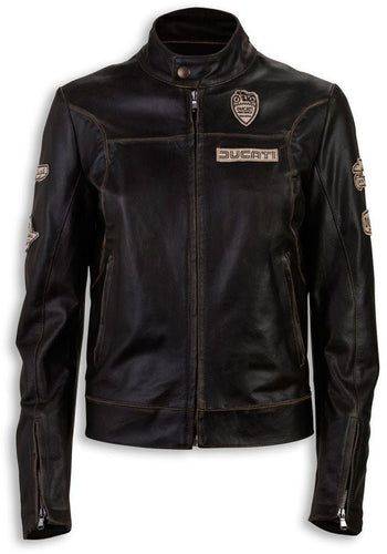 Ducati Women's Historical Leather Jacket 98768668