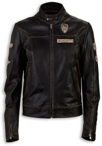 Ducati Women's Historical Leather Jacket