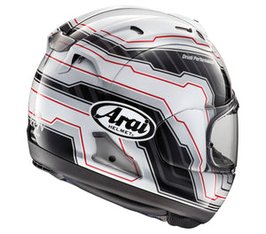 Arai Corsair-X Mamola Edge White