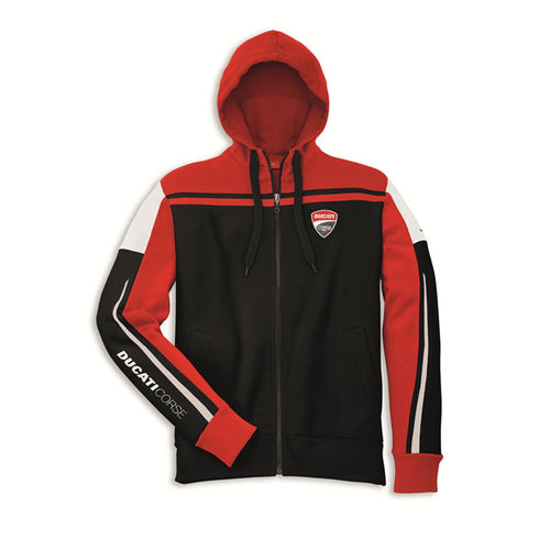 Ducati Corse Full Zip Sweatshirt