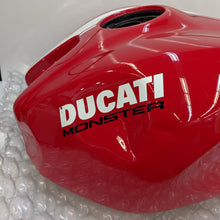Load image into Gallery viewer, Ducati Monster 1200S Stripe Used Gas Tank 58612001CH