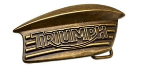 Triumph Bonneville Tank Badge Buckle
