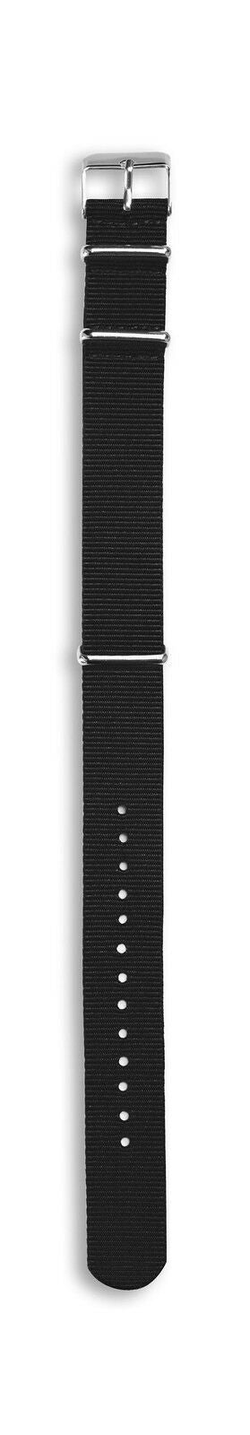 Compass Spare Fabric Watch Strap - Black 987694547