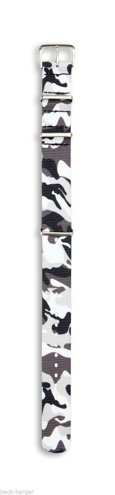 Compass Spare Fabric Watch Strap - Camo 987694548