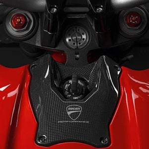 Ducati Streetfighter (2009-11) Carbon Ignition Switch Cover