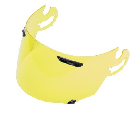 Arai SAQ Shield, Hi Def Yellow