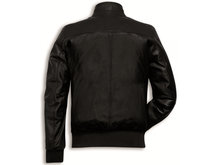 Load image into Gallery viewer, Ducati Leather Bomber Jacket