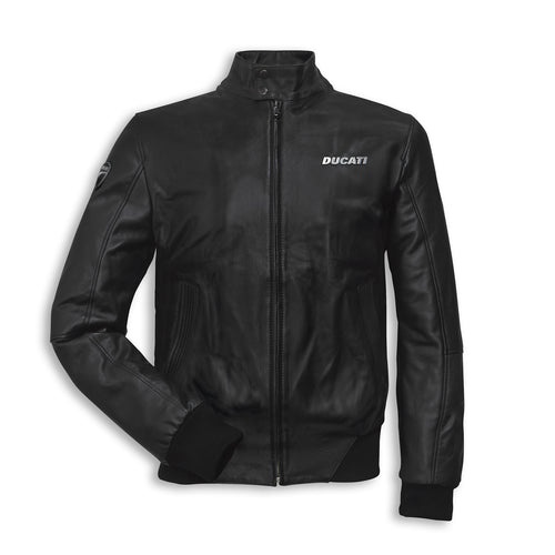 Ducati Leather Bomber Jacket