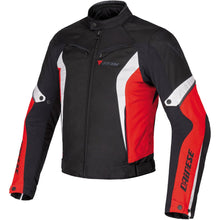 Load image into Gallery viewer, Dainese Crono Tex Jacket - Black/Red/White