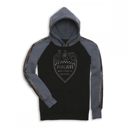 Ducati Retro Hooded Sweatshirt