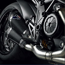 Load image into Gallery viewer, Ducati Diavel Termignoni Complete Racing Carbon Exhaust System 96459711B