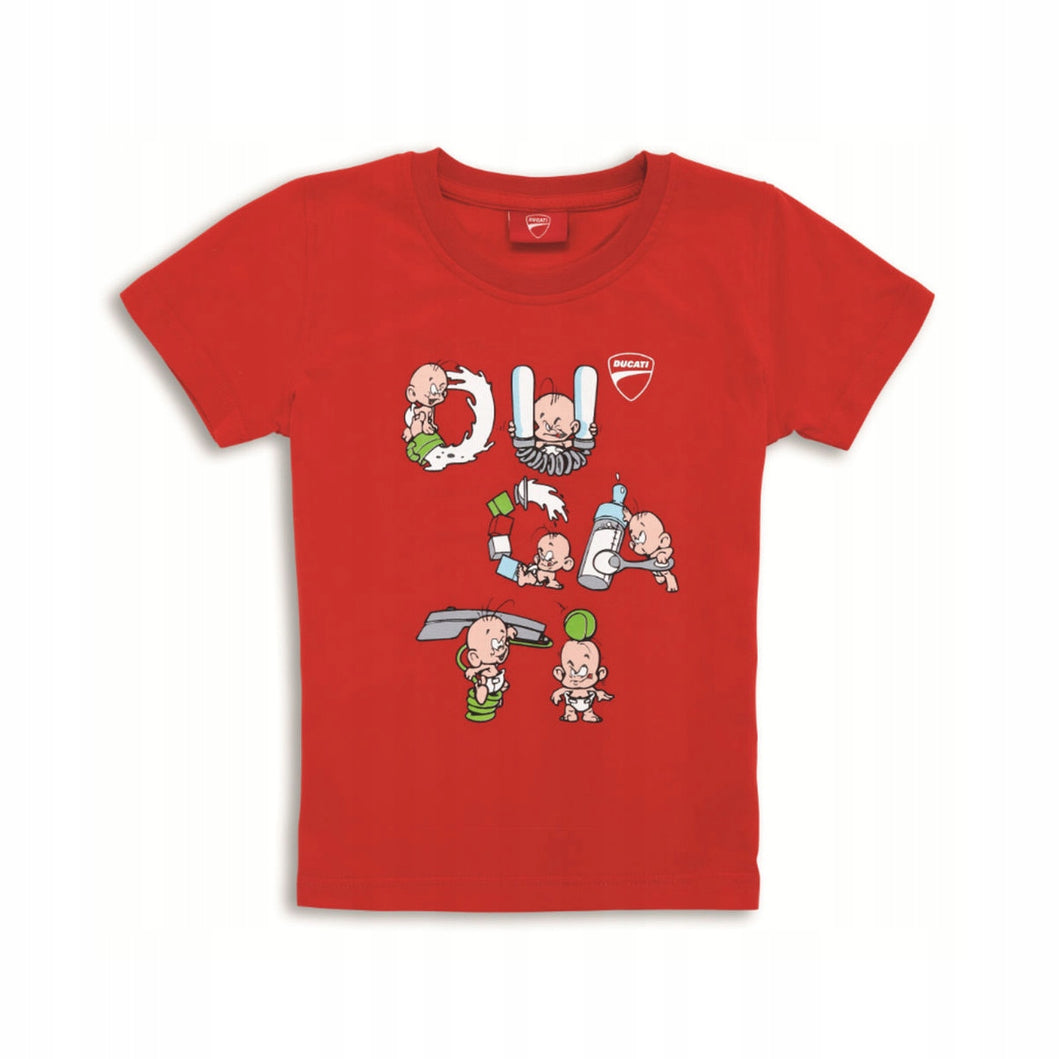 Ducati Baby's Letters T-Shirt