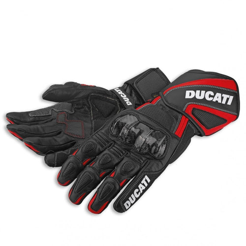 Ducati Performance Leather Gloves - Black