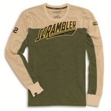 Load image into Gallery viewer, Ducati Scrambler Track Star Long Sleeve Shirt 98769175