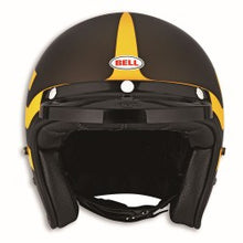 Load image into Gallery viewer, Ducati Scrambler Short Track Helmet - Brown/Yellow 98103085