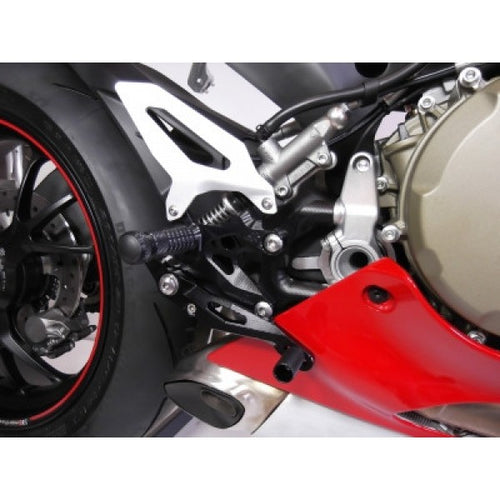 Gilles Factor X-Rearsets for Ducati Panigale