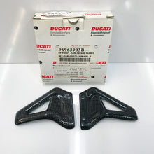 Load image into Gallery viewer, Ducati Carbon Heel Guards