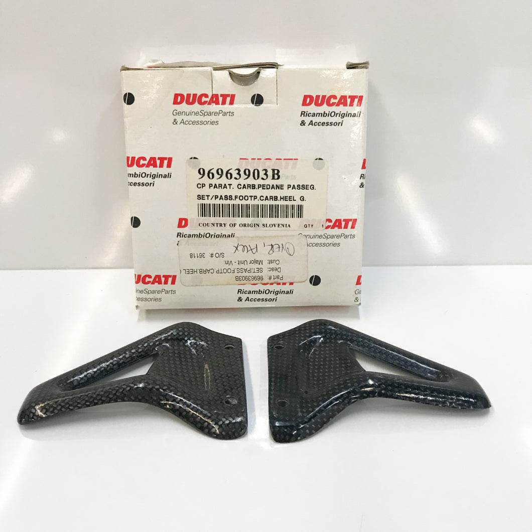 Ducati Carbon Heel Guards