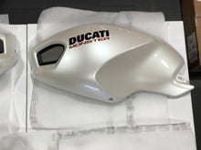 Load image into Gallery viewer, Ducati Monster Painted Bodywork Kit - Pearl White 69924583AW