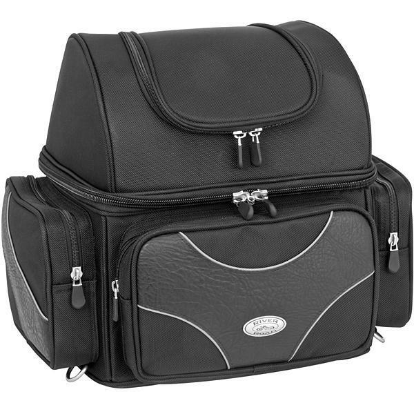 River Road Medium Textile Sissy Bar Bag