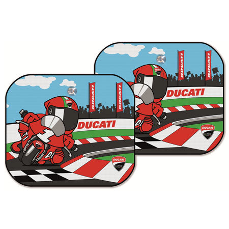 Ducati Cartoon Car Sunshade 987694021