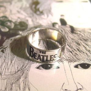 Personalized John Lennon ring | Mineovermatter Designs