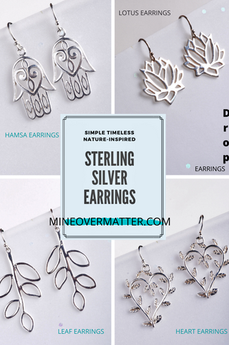 Sterling Silver Earrings | Drop Earrings