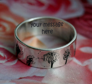 Dandelion Engagement Ring | Mineovermatter Designs