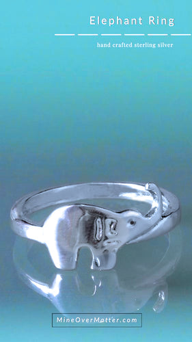 Elephant Ring - Delicate ring | Mineovermatter Designs