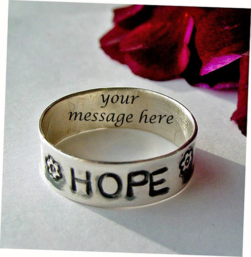 Hope ring | Mineovermatter Designs