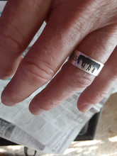 Load image into Gallery viewer, Personalized John Lennon ring | Mineovermatter Designs