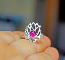 Load image into Gallery viewer, Delicate Lotus Ring | Mineovermatter