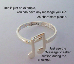Music Ring | Mineovermatter Designs