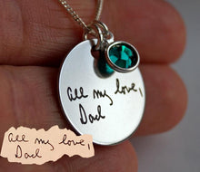 Load image into Gallery viewer, A Personalized Mother's Day Gift from Daughter, Mother's Day Jewelry, necklace