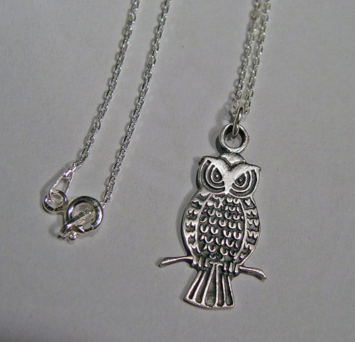 Owl necklace | Mineovermatter Designs