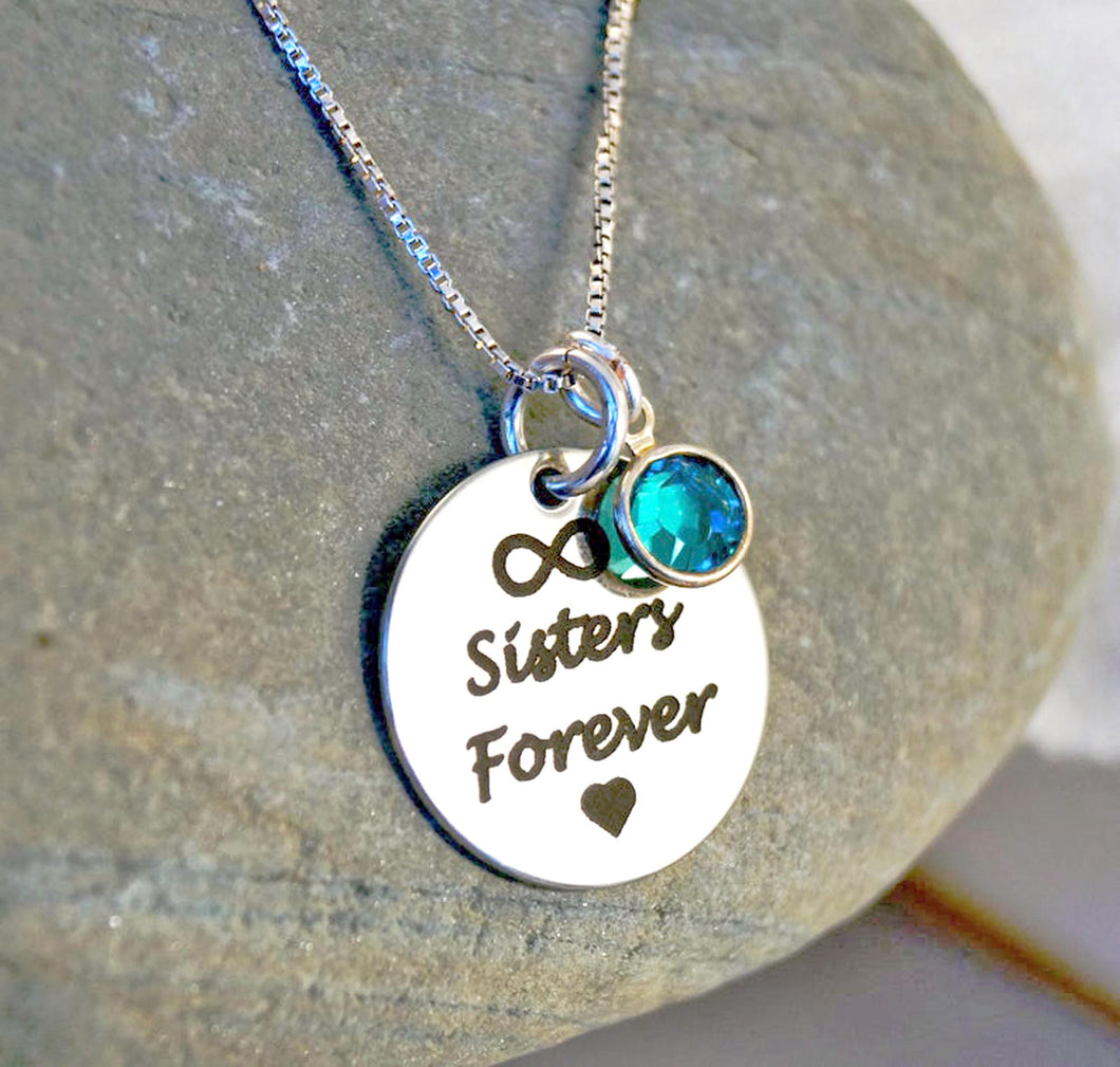 Sisters Forever Necklace| Mineovermatter Designs