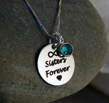 Load image into Gallery viewer, Sisters Forever Necklace| Mineovermatter Designs
