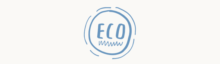 Oceanness eco-friendly made from recycled plastic bottles icon