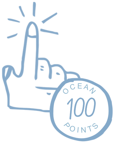 100 Ocean Points for joining Perks for Purpose