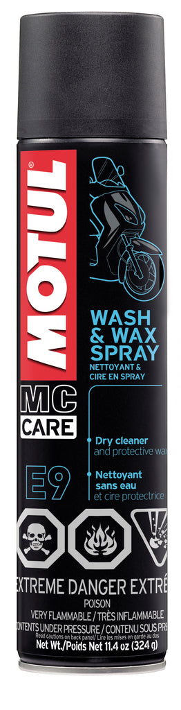 Motul 11.4oz Cleaners WASH & WAX - Body & Paint Cleaner
