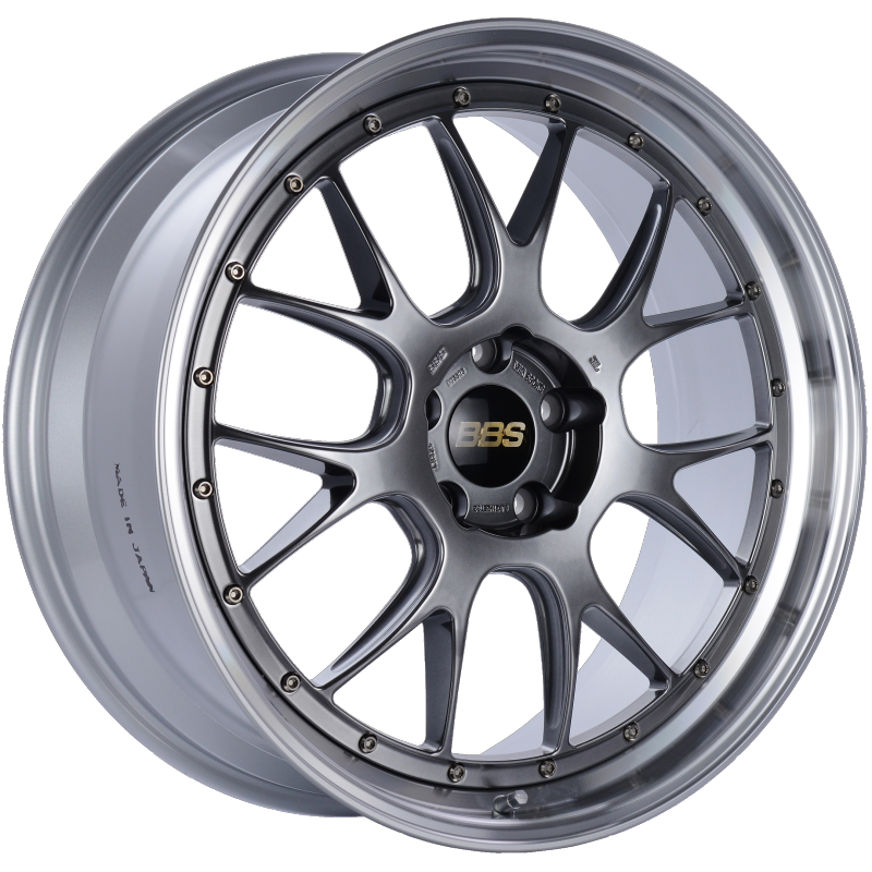 BBS LM-R 21x9 5x120 ET32 Diamond Black Center Diamond Cut Lip Wheel -82mm PFS/Clip Required