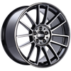 BBS CM 19x9.5 5x112 ET28 Gloss Black Diamond Cut Face Wheel -82mm PFS/Clip Required