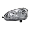 xTune Volkswagen Golf 06-09 Driver Side Headlight - OEM Left Black HD-JH-TCOL14-OE-R