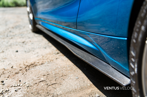 Ventus Veloce Carbon Fiber 2016 2017 2018 2019 2020 BMW M2 Side Skirts