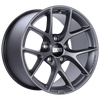 BBS SR 18x10 5x130 ET41 CB71.6 Satin Grey Wheel