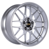 BBS RG-R 18x10 5x120 ET25 Diamond Silver Wheel -82mm PFS/Clip Required