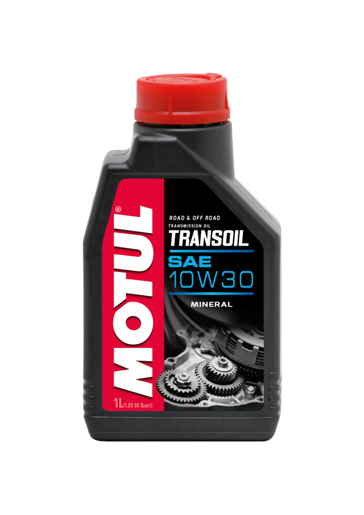 Motul 1L Powersport TRANSOIL SAE 10W30 (Wet Clutch) - Petroleum