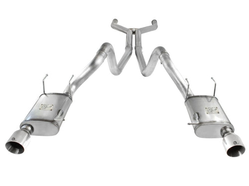 aFe MACHForce XP Cat-Back Exhaust 3in SS w/ Polished Tips 11-14 Ford Mustang GT V8 5.0L