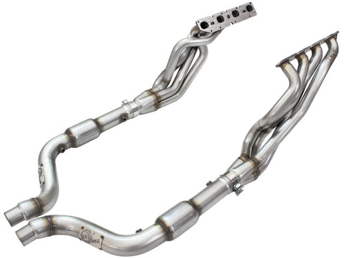 aFe Twisted Steel Long Tube Headers & Connection Pipes w/ Cats 09-15 Dodge Charger R/T V8-5.7L Hemi